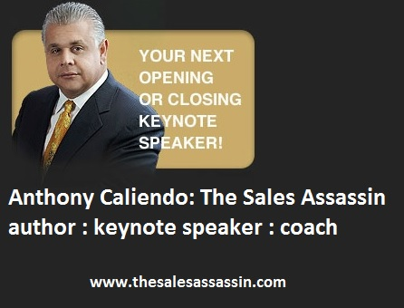 Anthony Caliendo The Sales Assassin Author speaker coach