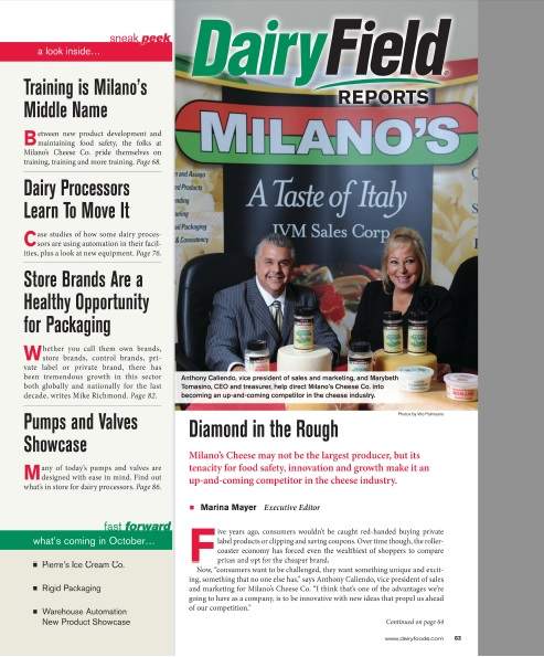 Milano's Cheese an up-and-coming competitor in the cheese industry