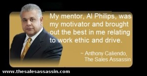 My mentor Al Philips by anthony caliendo the sales assassin