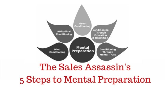 The Sales Assassin's 5 Steps to Mental Preparation