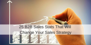 Sales Strategy: 25 B2B Sales Stats That Will Change Your Sales Strategy