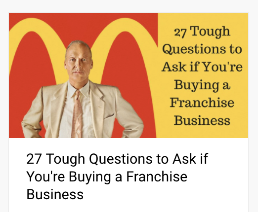 27 Tough Questions to Ask Before You Buy a Franchise