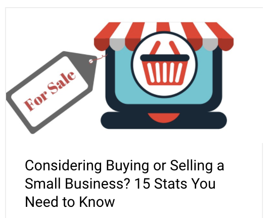 Considering Buying or Selling a Small Business? 15 Stats You Need to Know | Anthony Caliendo | The Sales Assassin