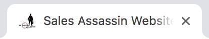 The Sales Assassin logo favicon