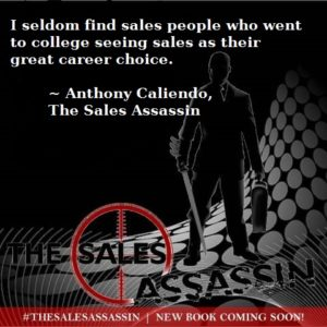 Anthony Caliendo: sales as a career choice