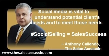 #SocialSelling = #SalesSuccess ~ anthony caliendo
