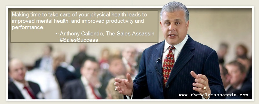 Making time to take care of your physical health leads to improved mental health, and improved productivity and performance.