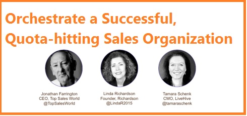 Orchestrate a Successful Quota Hitting Sales Organization