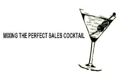 how to mix the perfect sales cocktail