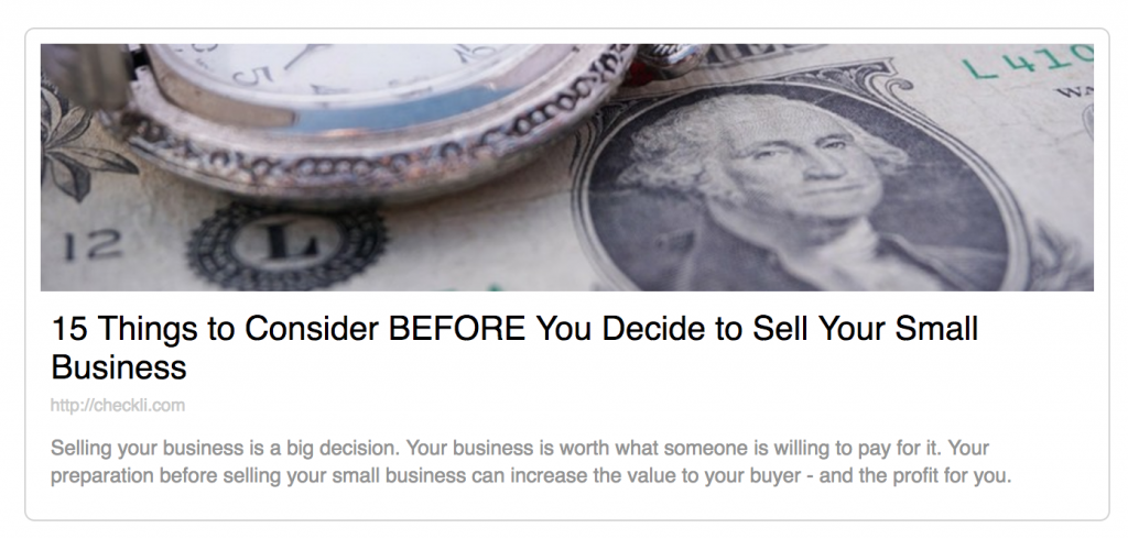 Antony Caliendo | 15 Things to Consider BEFORE You Decide to Sell Your Small Business | The Sales Assassin