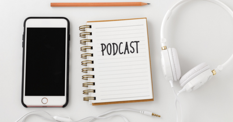iPhone and headphone: Sales Podcast Tips and Resources | Anthony Caliendo | The Sales Assassin
