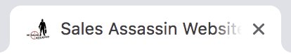 The Sales Assassin logo favicon